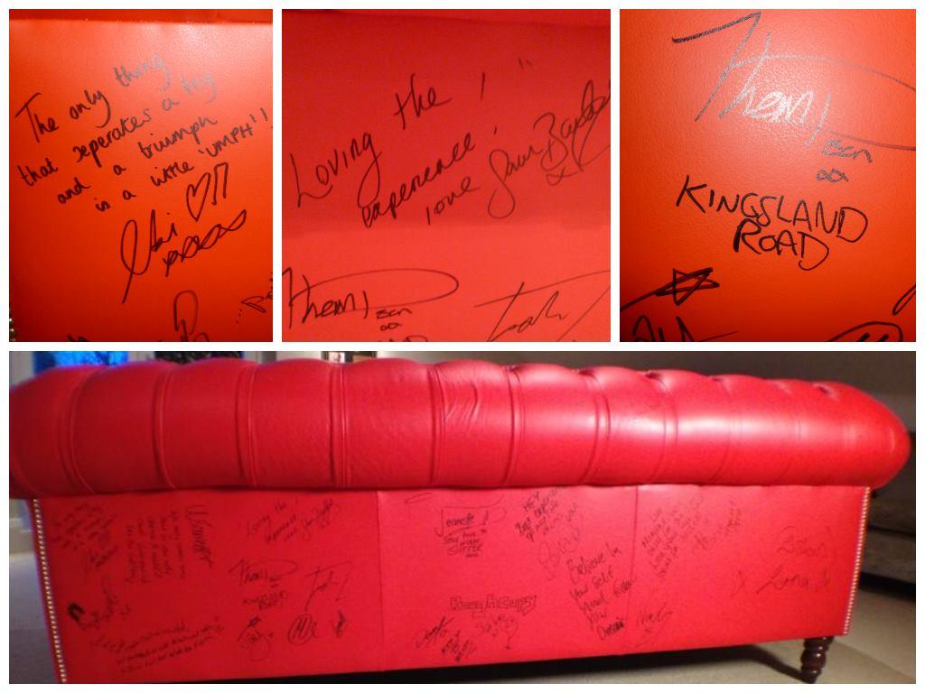 X Factor autographs