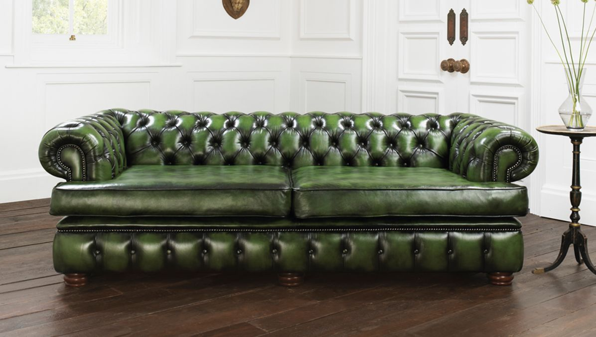 green chesterfield sofa harewood