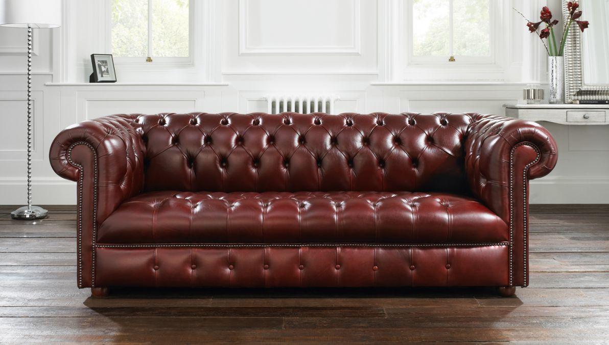 maroon chesterfield sofa windsor