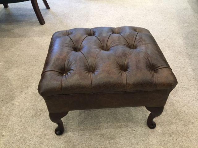 regal footstool in deluxe