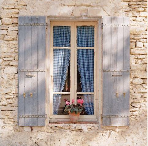 Gingham window