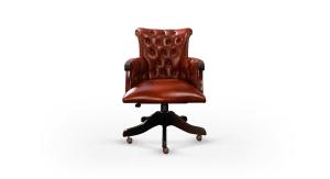 Distinctive Chesterfields Brocket Swivel Chair