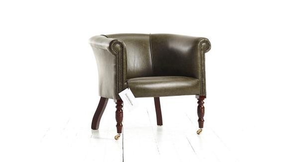 Distinctive Chesterfields Oxford Plain Tub Chair